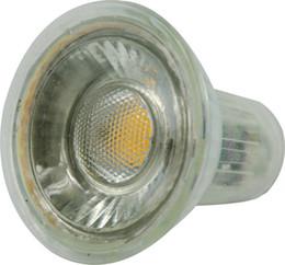 Melhor bulbo dimmable conduzido on-line-Melhor Qualidade 6 W Regulável COB Gu10 LED Spot Light Bulb Lâmpadas Levou Holofotes Branco Quente Branco Frio Frio BrancoLed Opcional Frete Grátis