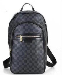 Wholesale American Style School Bags - Fashion Luxury Brand Backpack Style PU Leather Hig Fashion Designer Backpack Bags Fashion Women Men School Bags handbag