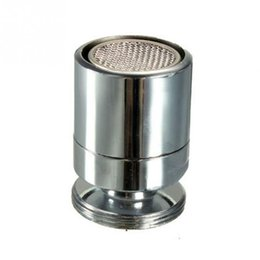 Wholesale nozzle swivel - Shower Swivel Head Adapter Water Saving Tap Aerator Connector Diffuser Filter Aerator Faucet Nozzle Filter Kitchen accessories