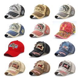 0ceddc4dbce New Style Baseball Caps Curved Popular Trucker Hats 100% Cotton Strapback Leisure  Hat Retro Couple Cap Fashion Washed Cap Brand Ball Hat