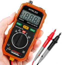 Wholesale Power Multimeter - Digital Multimeter Non-contact Digital Multimeter DC AC Voltage Current Tester Auto Power off Digital Multimeter Tester +NB