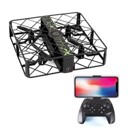 Wholesale rc camera control - Z8 Mini RC Drone 2.4GHz 6 Axis Gyro HD 720P Camera Remote Control Selfie Pocket Smart Altitude Hold Hover Smart Drone UAV