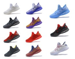 Wholesale Crazy Brown - Crazy Explosive Low PK Men Basketball Shoes CrazyExplosive Athletics Sneakers Vegas Sport Outdoor Boots Size 7-12 High Quality