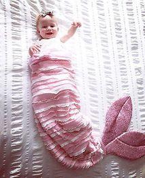 Wholesale Baby Bedding Fishing - Lovely Baby Kids Mermaid Fish Tail Sleeping Bags Blanket Bed Sofa Outfits Cute Costume Sleeping Bag
