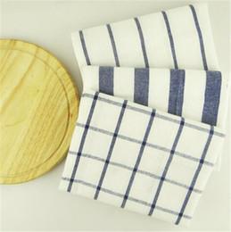 Manteles individuales online-Algodón servilletas mantel de aislamiento térmico estera de mesa de comedor cómoda manteles mantel de tabla de la tela de fondo