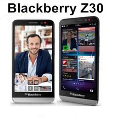 Wholesale Qualcomm Mobile Phones - Original BlackBerry Z30 5.0 inch BlackBerry OS 10.2 Qualcomm MSM8960T Pro 3G Smart Phone 2GB 16GB 8MP Refurbished Mobile Phone
