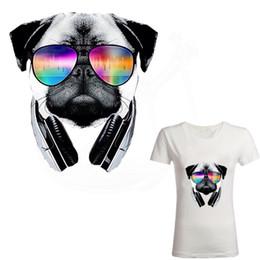 Canada Les patchs de chien de musique de vente chaude 2018 pour le transfert thermique de vêtements de bricolage des jeunes Offre