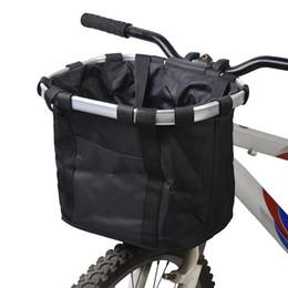 Lixada Borsone Bici Cestino Bici Bicicletta Zaino Telaio in lega di alluminio Portabici Portabici anteriore Borsa per animali Borsa da viaggio Zaino esterno da