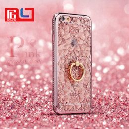 Wholesale queen soft - 3D Queen Ring Kickstand Special Design Soft diamond For female Phone Case For Iphone X Phone Case DHL Free Shipping