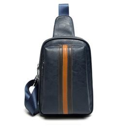 Men PU Leather High Quality Fashion Sling Chest Bag Cross Body Messenger  Shoulder Bag Casual Pack New 1fc381cd36ff0
