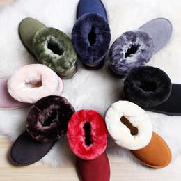 Mulheres botas de neve de Couro senhoras 2018 inverno novo espessamento preservação do calor anti deslizamento botas de algodão neve marca de design melhor venda de