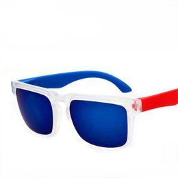 Wholesale spy sunglasses black - Sunglasses Men's Brand Designer Women Sun glasses Reflective Coating Square Spied For Men Rectangle Eyewear