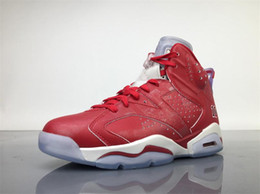Wholesale Flat Soccer Ball - AIR 6 6s RETRO X SLAM DUNK VARSITY RED VARSITY RED-WHITE RPRO RPRO-BLANC BASKET BALL SHOES MENS SNEAKERS OUTDOORS SPORTS