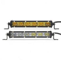 Внедорожные автомобили онлайн-7 дюймов 6D 18W 6 LED свет работы бар водонепроницаемый пятно вождения туман свет бар Offroad LED свет работы для внедорожник автомобиль лодка
