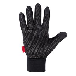 Wholesale military black gloves - Wholesale Windproof Outdoor Sports Skiing Touch Screen Glove Cycling Bicycle Gloves Mountaineering Military Motorcycle Racing Gloves