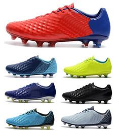 Wholesale Footbal Boots - 2018 Cheapest Low Magista Obra II ACC Soccer Shoes Neymar JR Phantom FG Soccer Cleats Youth Mens Football Shoes Footbal Boots