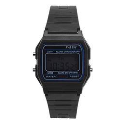 Wholesale pre girls - Men Girl LED Digital Round Rubber Outdoor Watch Quartz Sport Fashion Waterproof Wrist Watch Relogio Digital #P