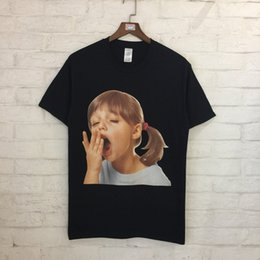 Wholesale T Shirts For Little Girls - Little Girl 3D Printed Women Men T shirts tee Hiphop Streetwear Men Cotton T shirt For Summer 2018