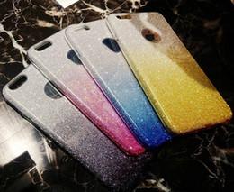 Teléfonos celulares de lujo al por mayor online-Venta al por mayor caja del teléfono de destello libre de DHL cajas del teléfono de lujo caja del teléfono celular de la PC del gradiente TPU monocromático para IPhone X 8 7 6 MPS11