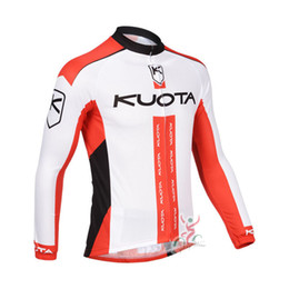 Wholesale Men Cycling Jersey Kuota - MAVIC KUOTA team Cycling long Sleeves jersey Multiple Choices Simple Men Long Sleeve Comfortable and quick dry c1704