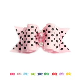 Wholesale Dot Stores - Armi store 60 Pcs Handmade Accessories Rhombus Shaped Beads Decoration Dog Bow Dogs Grooming Bows 6022017 Pet Supplies Wholesale
