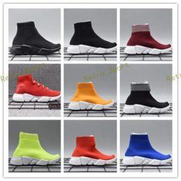 Canada Enfants en bas âge Enfants chaussures de course Vitesse chaussettes Sneakers Tess Mesh en plein air Chaussures de sport enfant en bas âge fille garçon Entraîneur stretch-knit Zapatillas supplier infant shoe socks boys Offre
