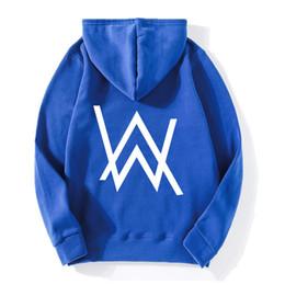 2019 indossare i vestiti New Fashion 2018 Alan Walker Faded Felpa con cappuccio Hip Hop DJ Felpe Unisex Taglie forti Marchio di abbigliamento Tuta M2 di alta qualità indossare i vestiti economici