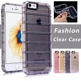 Wholesale Iphone 5s Case New - New Clear Case Shockproof Transparent Armor Case Cover For iPhone X 8 7 6 6S 5 5S Plus Samsung S7 S8 Plus Edge