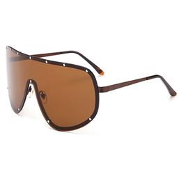 e6866c35a6 conjoined sunglasses Promo Codes - fashion women men oversized conjoined  sunglasses luxury brand designer sunglasses for