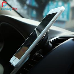 iphone standardaufladeeinheit Rabatt 360 Grad-Drehung QI-Standardtelefon-Auto-magnetisches drahtloses Ladegerät für Iphone 8 Iphone X Samsung S8 S8 Plus S7 Rand S7