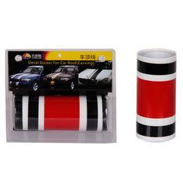 Wholesale Graphic Film Vinyl - Dual Style Racing Stripe Vinyl Decal Vehicle Graphics Customized racing stripes sticker car