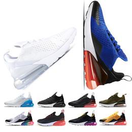 low priced ddc5a e5104 NIKE AIR MAX 270 Chaussures de course N K 270 Plus Hommes Femmes Classique  Course En Plein Air Chaussures Vapor Blanc Sport Shock Jogging Marche Sport  ...