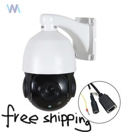 Wholesale speed dome camera waterproof - 4.5'' 30X Zoom 1080P 2MP Outdoor HD PTZ camera IP Speed Dome Camera IR Night CMOS Auto