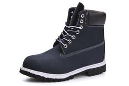 vendita all'ingrosso 6 pollici Boot Mens metà stivali Street Fashion outdoor stivaletti combattimento tattico militare stivali invernali Logo originale da marchi denim jeans stili fornitori