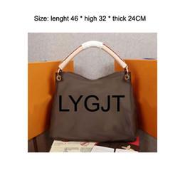 Bolsos de embrague para mujer online-Los bolsos para mujer de calidad superior AAAAA se adaptan al bolso del diseñador de las señoras del bolso del cuero genuino señora Clutch Retro Shoulder Bags