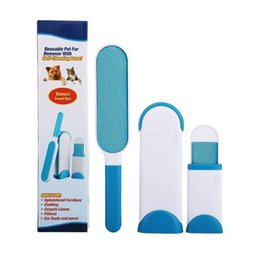 Wholesale Travel Products Wholesale - Pet Lint Brush Pet Fur Remover by BulbHead Remover WithTravel Travel Size hair Cleaner Brusher Set Pet Dog Cat Fur and Lint Re