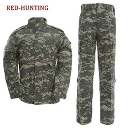 68140d19928 Discount browning hunting clothing - US Army Uniform Gear ACU Camouflage  Hunting Tactical Bdu Combat Uniform