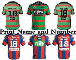 Wholesale Patriots Shirts - NEWCASTLE KNIGHTS 2018 HOME JERSEY Newcastle Knights Marvel Iron Patriot Jersey rugby jerseys shirts jersey S-3XL (Can print)SOUTH SYDNEY