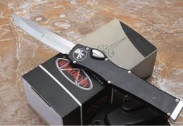 coltelli fisici tattici coltelli kydex Sconti 2018 Micro 251 tech Halo V-I-6 Auto Coltelli azione singola Coltelli tattici Manici in alluminio KYDEX Guaina sopravvivenza Coltelli da caccia