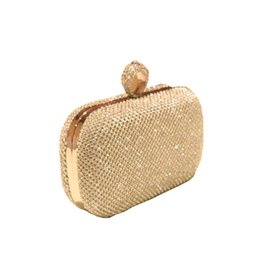 b0286156b5b41 Super Luxury Handmade Popular Women Handbag Full Diamond Finger Ring  Evening Bags Clutch Purse Bling Bag 3 Color