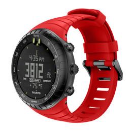 Полоса активной зоны онлайн-Bemorcabo для Suunto Core Watch Band,классический мягкий ТПУ часы ремешок браслет замена браслет для Suunto Core смарт