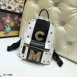 Wholesale Girls Character Tops - 2018 Luxury famous Brand diamond designer backpacks backpack Handbags 1:1 5A Bags SPECIAL COUNTER girl lady women wallet top SPX180402003