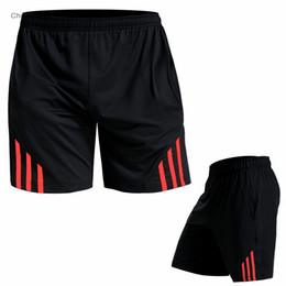 Белые шорты йоги онлайн-Men Running Shorts Black Stitching Basketball Tight Jerseys Quick Dry Yoga Sportswear Elastic Gym Clothes Gray/Red / Green/White