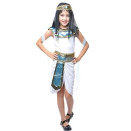 Wholesale children stage shows - Children's Day Halloween Costume cos show performance clothing child favor party stage performance dress