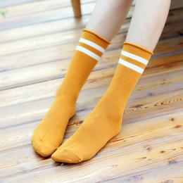 многоцветные носки для туфель Скидка Осень и зима винтажные полосатые японские носки хлопчатобумажные свободные носки обжимные чулки женские носки чулочно-носочные изделия