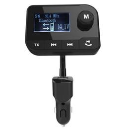 цифровой передатчик mp3-плеера Скидка Горячая беспроводная связь Bluetooth FM-передатчик FM-модулятор автомобиля Mp3-плеер поддержка TF рука бесплатно USB зарядное устройство цифровой дисплей автомобиля аксессуар