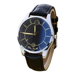 2019 модные черные часы GEMIXI 2018 Новый 2016 мода Pattern Кожаный ремешок аналоговый кварцевые Vogue часы черный груза падения дешево модные черные часы