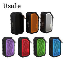 Canada Wismec Active Box Mod 80W 2100mAh Batterie intégrée avec fonction de musique Bluetooth Étanche Résistant aux chocs Résistant aux chocs 100% Original Offre
