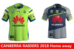 Wholesale Raiders Shirt L - new CANBERRA RAIDER S 2018 Home away rugby Jerseys NRL National Rugby League rugby shirt nrl jersey canberra raider s shirts s-3xl