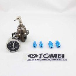 Wholesale Performance Pressure - Tomei New JDM high-performance Aluminum Adjustable Fuel Pressure Regulator FPR Type S With Black Gauge